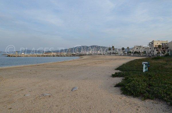 Spiaggia Sud di Port-Grimaud - Francia