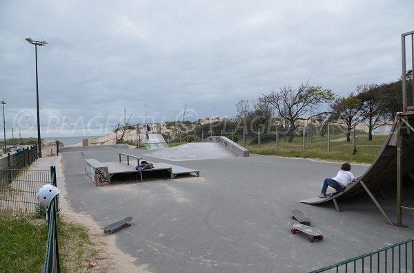 Skate parc de la plage sud de Soulac