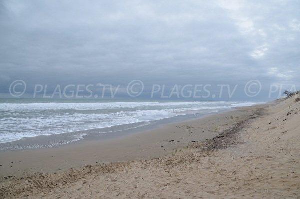 Plage sud de Soulac sur Mer