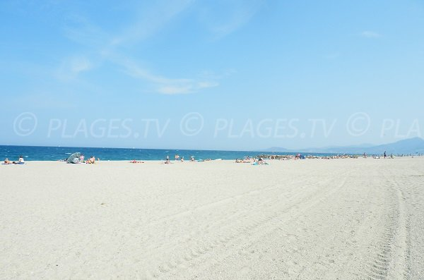 Photo of South Beach in St Cyprien - France