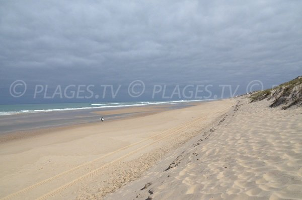 Photo of Super South beach in Lacanau - Atlantic in France