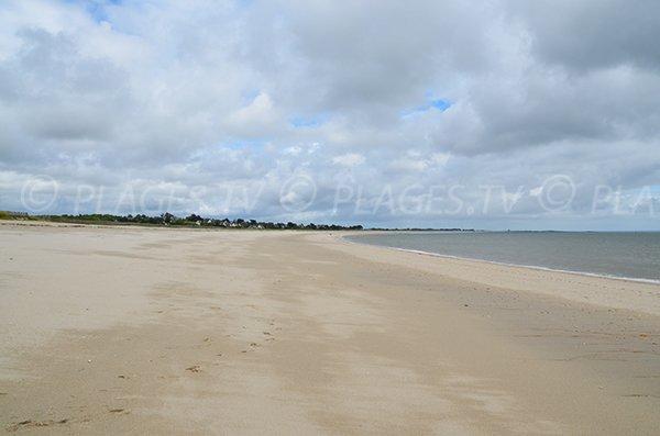 Photo de la plage de Suscinio de Sarzeau