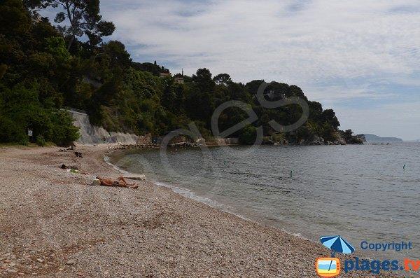 Spiaggia Tabarly a Tolone