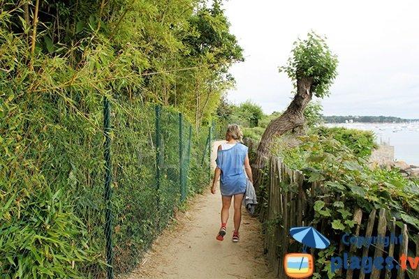 Sentier de Beg Meil à Fouesnant