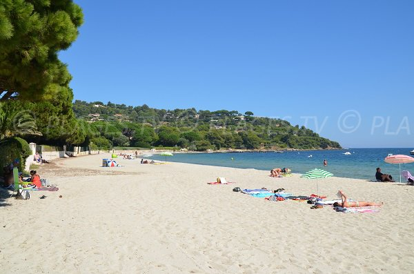Photo of Tahiti and Pampelonne beaches in St Tropez