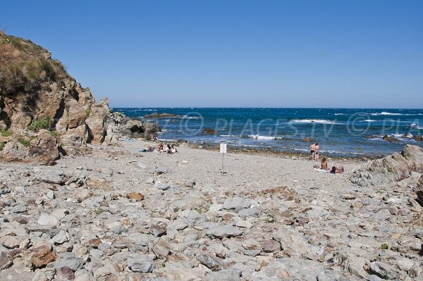 Taillelauque Beach in Banyuls-sur-Mer - Pyrenees
