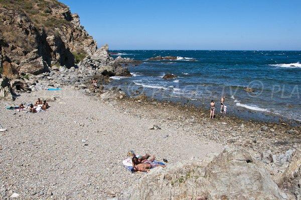 Cala segreto a Banyuls sur Mer - Francia