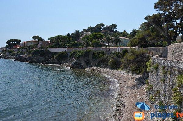 Coastal path around Saint Jean Cap Ferrat