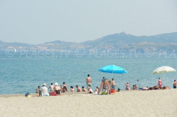 Spiaggia di Tamaraiguer - Costa Vermiglia - Argeles