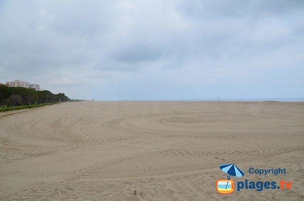 Foto della spiaggia Tamariguer - Argeles sur Mer