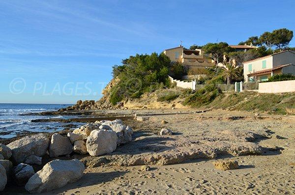 Spiaggia di sabbia - Tamaris a La Couronne - Martigues