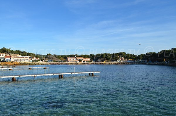 Spiaggia del Port Tamaris a La Couronne - Martigues