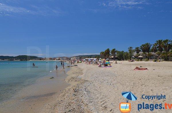 Port-Grimaud view from Tamaris beach