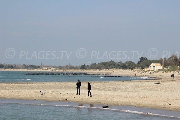 Spiaggia pubblica a Adge - Vias