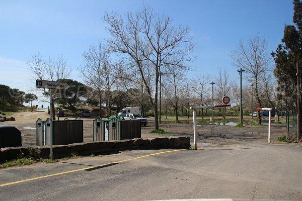 parcheggio della spiaggia La Tamarissière - Grau d'Agde