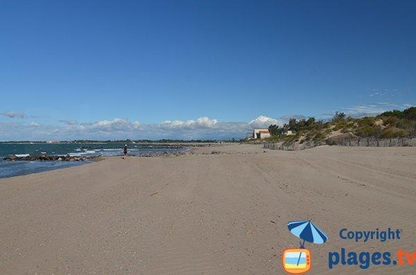 Spiaggia selvaggia a Agde