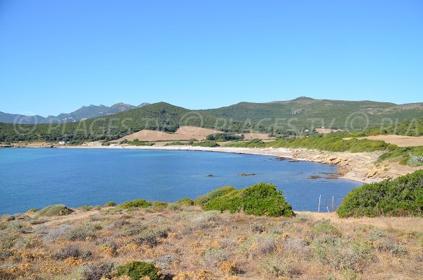 Baie de Tamarone en Corse