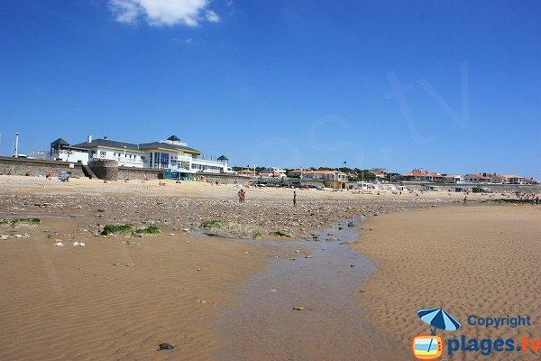 Institut sport océan vue depuis la plage du Tanchet