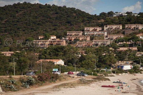 Access to Tarco beach - Corsica