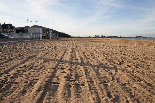 Photo de la plage du Temple à Houlgate (Calvados)