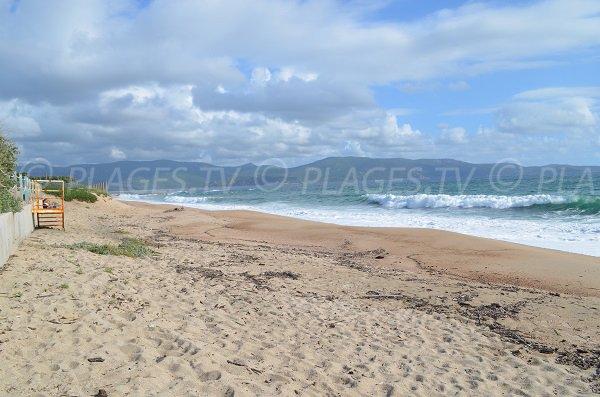 Spiaggia a Olmeto-Plage in Corsica