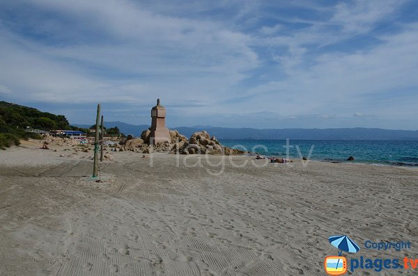 Terre Sacrée beach - Ajaccio - Corsica