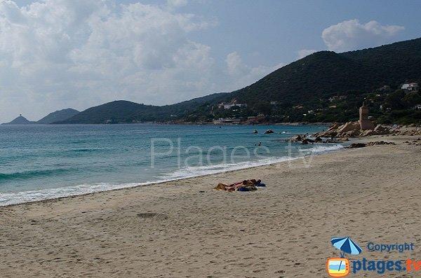 Photo de la plage de la Terre Sacrée à Ajaccio