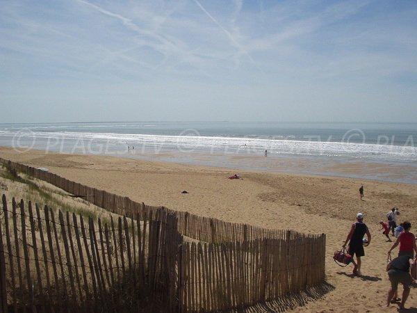 Photo of Terrière beach from lot 150 in La Tranche sur Mer