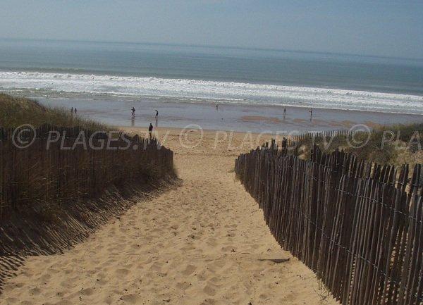 Accès à la plage de la Terrière - n°151 - La Tranche sur Mer
