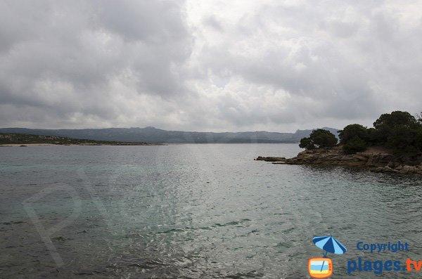 Golfe de Ventilegne, vue sur Bonifacio