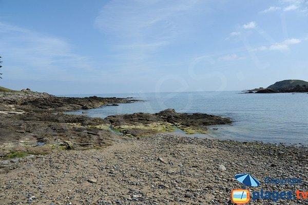 Rocks of Tertre Pelé beach - St Briac