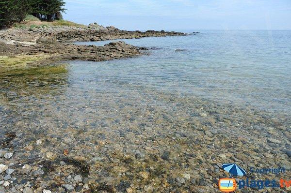 Stones of the Tertre beach in St Briac sur Mer