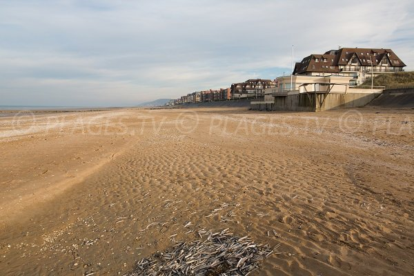 Photo of the Thalasso beach in Cabourg in France