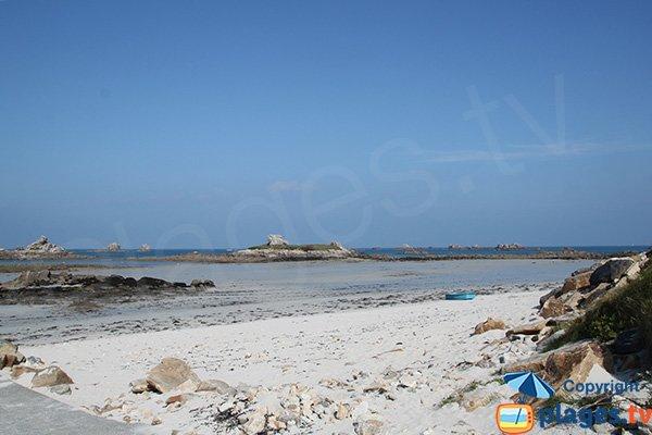 Photo de la plage de Théven de Santec