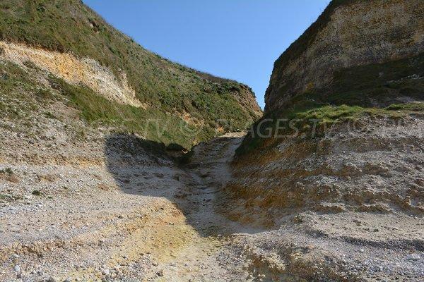 Access to Tilleul beach