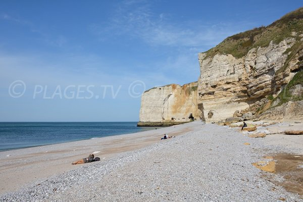 Photo of Antifer beach in Le Tilleul in Normandy
