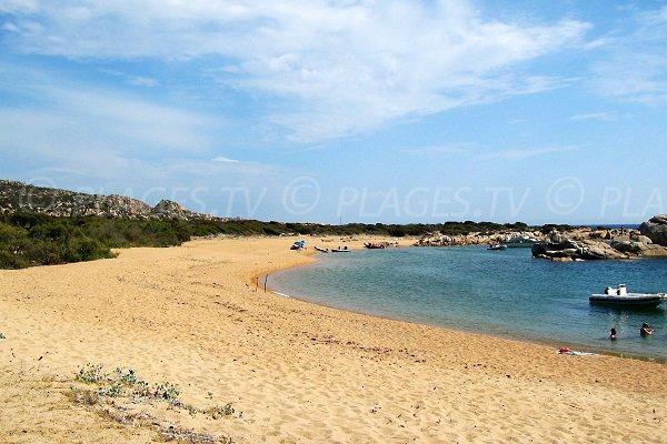 Tivella beach in Sartène - Corsica