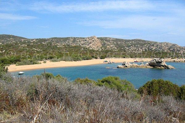 Photo de la plage de Tivella à Sartène