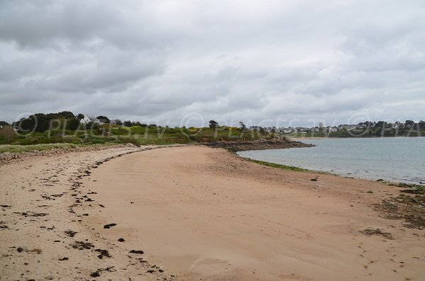 Plage nord de l'ile de Toenno à Trébeurden