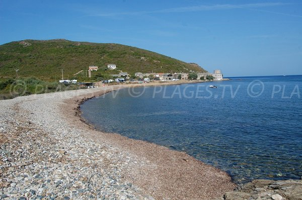 Photo de la plage de Tollare dans le Cap Corse