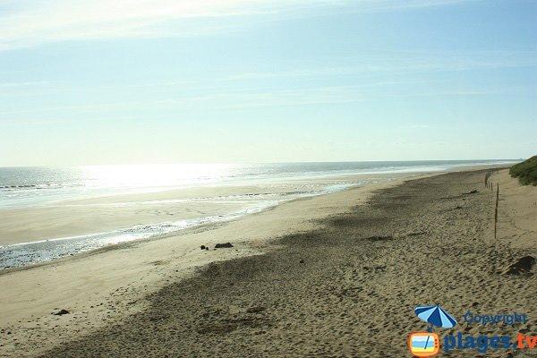 Spiaggia della Tonelle a Saint Jean de Monts in Francia