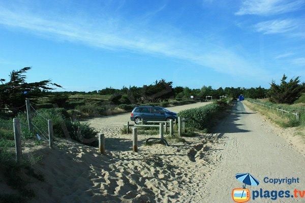 Parcheggio della spiaggia Tonelle - Saint Jean de Monts