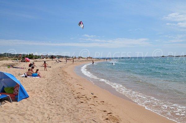 Spiaggia di Bonifacio kitesurf - Corsica