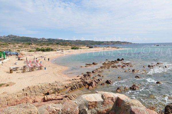 Photo de la plage de Tonnara à Bonifacio