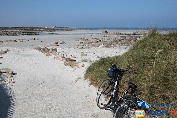 Accès à la plage de Toul an Ouch - Plougoulm
