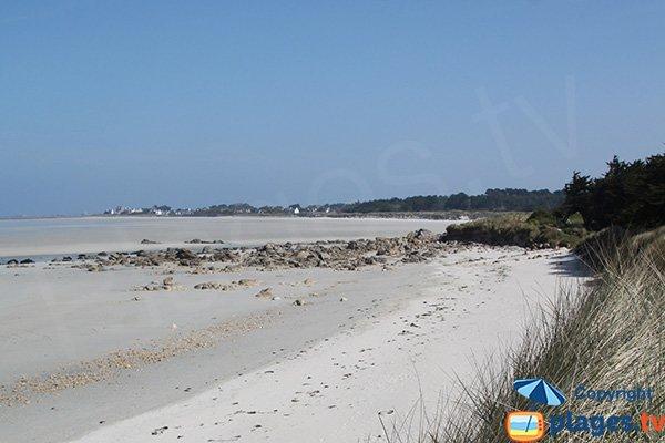 Plage confidentielle dans le Finistère - Toul an Ouch