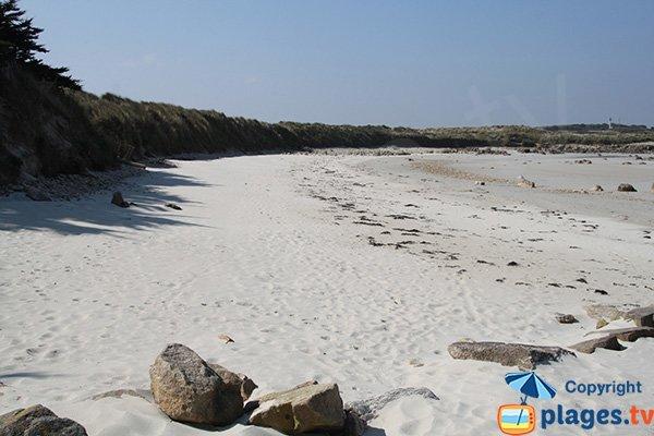 Photo de la plage de Toul an Ouch à Plougoulm