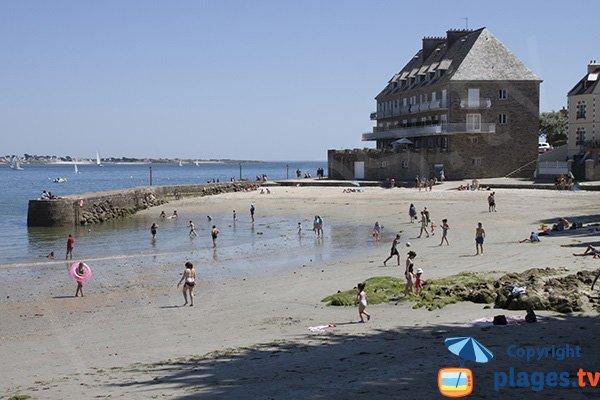 Plagette à côté de la plage de Toulhars - Larmor-Plage