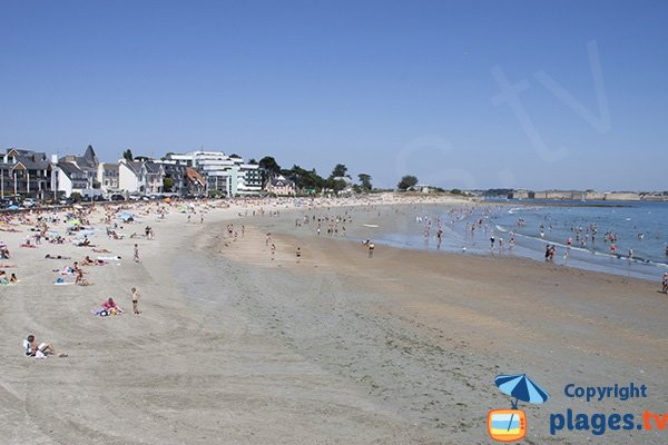 Photo of Toulhars beach in Larmor-Plage in France