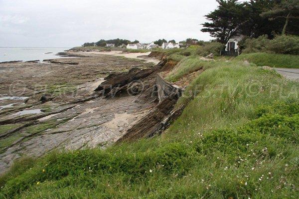 Toulifaut cove in Piriac sur Mer
